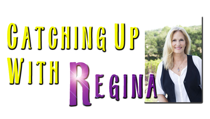 Catching Up With Regina video blog, audio podcast logo