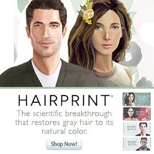 restore gray hair