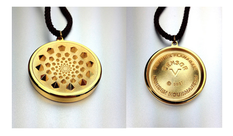 david wolfe gold necklace